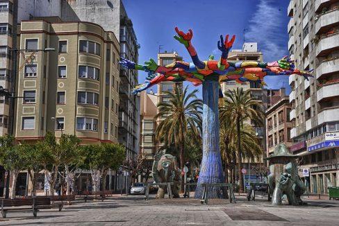 spain-castellon-city-monument-famous-culture